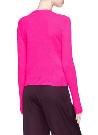 Back View - Click To Enlarge - Ms MIN - Crew neck cashmere sweater