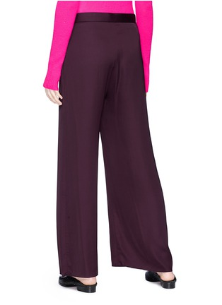 Back View - Click To Enlarge - Ms MIN - Belted wide leg pants