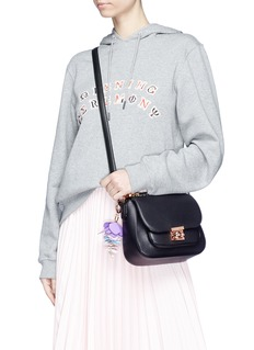 Sophia Webster 'Eloise' flower charm leather crossbody bag