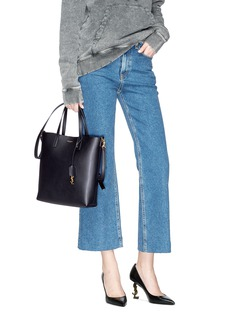 SAINT LAURENT 'Toy' North South leather shopping tote