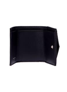 SAINT LAURENT 'Monogram' matelassé grain de poudre leather wallet