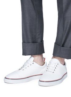Thom Browne Pebble grain leather sneakers