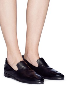 Marsèll 'Colteldino' zip back leather loafers