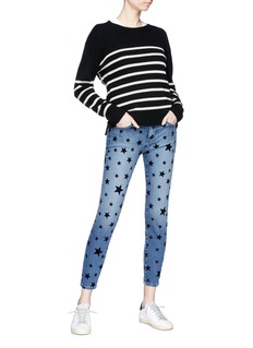 Current/Elliott 'The Stiletto' star print jeans
