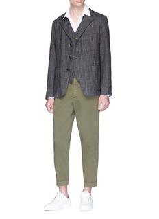Barena 'Falier Fero' check plaid wool soft blazer