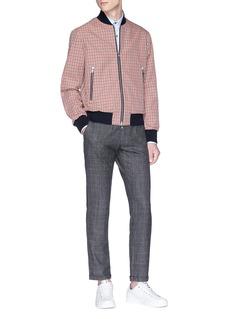 Barena 'Rampin Fero' check plaid wool pants