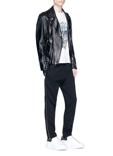 Alexander McQueen Zip outseam jogging pants