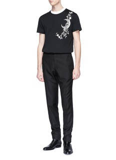 Alexander McQueen Floral moon print T-shirt
