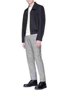 Alexander McQueen 'Prince of Wales' check plaid houndstooth pants