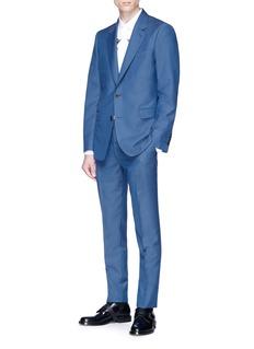 Alexander McQueen Wool-mohair blazer