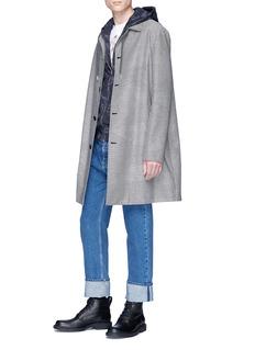 Alexander McQueen Skull camouflage print zip hoodie