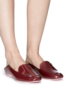 Tibi 'Cecil' patent leather step-in loafers
