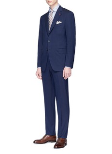 ISAIA Wool-silk pants