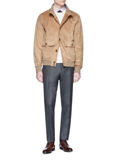 ISAIA Suede jacket