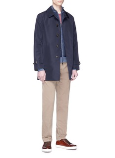 ISAIA Cashmere-silk raglan sleeve sweater