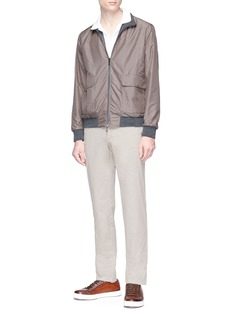 ISAIA Reversible water repellent bomber jacket