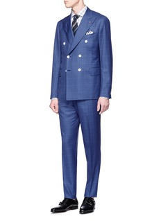 ISAIA 'Cortina' check plaid suit
