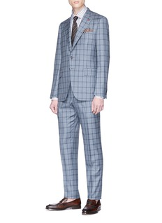 ISAIA 'Gregory' check wool suit