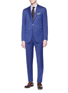 ISAIA 'Gregory' herringbone suit