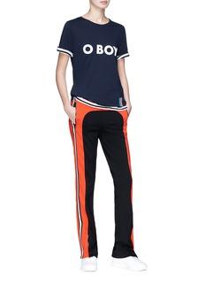 Kule 'O BOY' slogan print T-shirt
