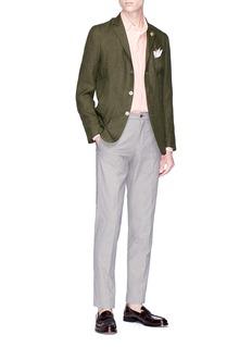 Lardini Micro houndstooth pants