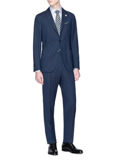 Lardini 'Easy Wear' packable wool suit