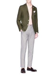 Lardini 'Easy' linen soft blazer