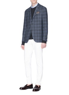 Lardini Check plaid blazer