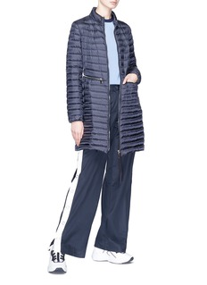 Moncler Long down puffer coat