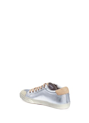 Detail View - Click To Enlarge - Ash - 'Magic' star patch metallic leather sneakers