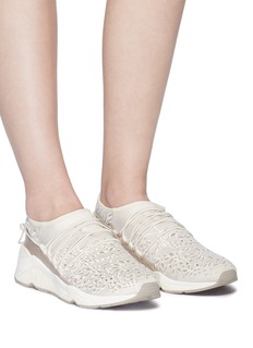 Ash 'Miss Flora' studded lace sneakers