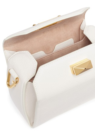 Detail View - Click To Enlarge - Alexander McQueen - 'Box Bag 16' in goatskin leather