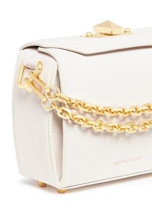 - Alexander McQueen - 'Box Bag 16' in goatskin leather