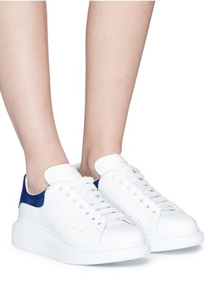Figure View - Click To Enlarge - Alexander McQueen - 'Larry' chunky outsole leather sneakers