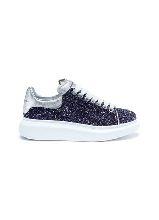 Main View - Click To Enlarge - Alexander McQueen - 'Larry' chunky outsole glitter sneakers