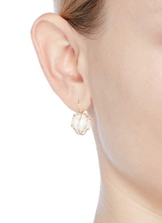 Rosantica 'Dessica' caged faux pearl drop earrings