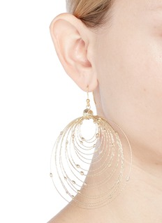 Rosantica 'Orbita' large concentric hoop earrings