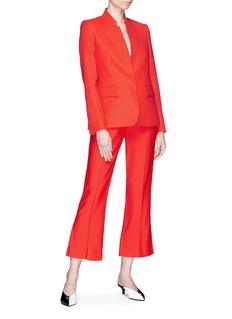 Stella McCartney 'Fleur' notched high collar blazer