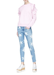 Stella McCartney Star print cropped skinny jeans