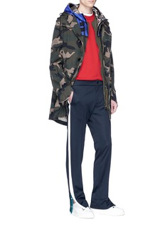 Valentino Two-in-one parka and vest