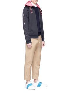 Valentino 'Rockstud Untitled 08' zipped sweatshirt