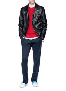 Valentino 'Rockstud Untitled 08 Rosso' cotton blend sweatshirt
