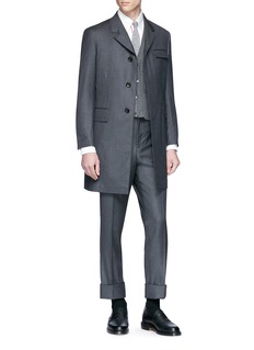 Thom Browne Wool twill coat