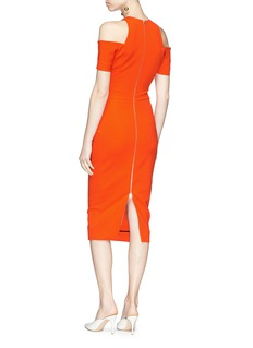 Victoria Beckham Cold shoulder dress