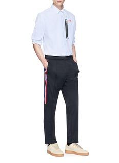 NikeLab x Riccardo Tisci zip pocket Oxford shirt