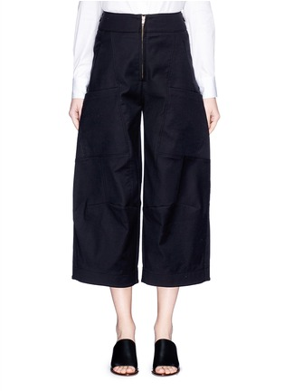 Main View - Click To Enlarge - Chloé - Twill cargo culottes