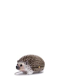 Judith Leiber 'Wilbur Hedgehog' crystal pavé minaudière