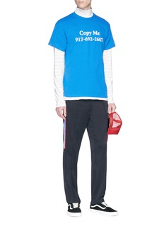 Nine One Seven 'Copy Me' slogan print T-shirt