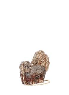 Judith Leiber 'Perla Charlie' crystal pavé minaudière