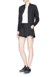 Calvin Klein Performance 品牌标志混棉夹克